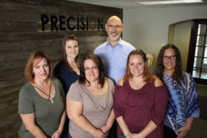 Team at Precision Chiropractic Green Bay WI